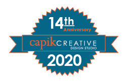 Capik Creative 14th Anniversary Seal 2020