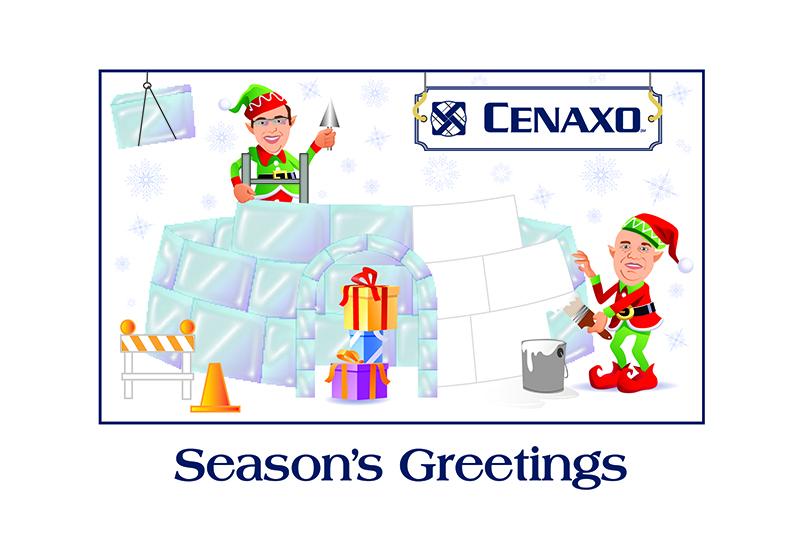 CENAXO Holiday Card