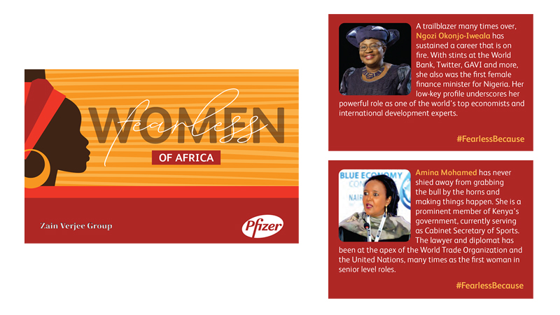 Fearless Women of Africa Playing Cards