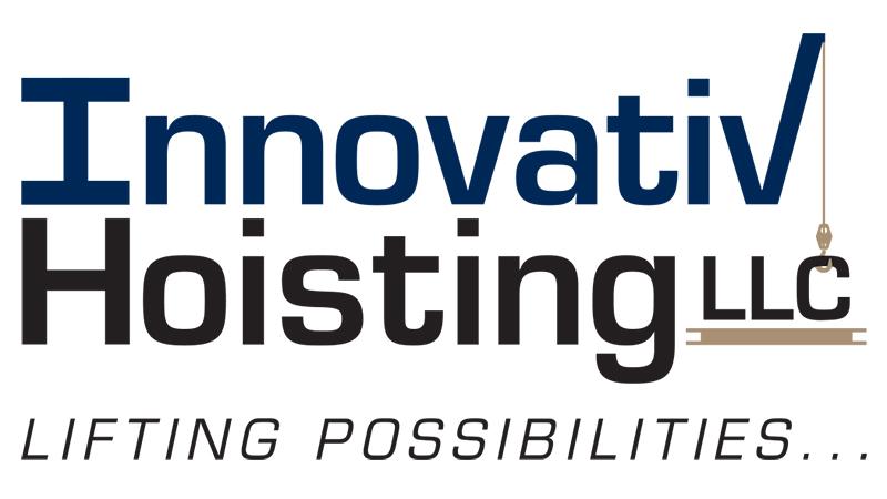 """Innovative Hoisting Tagline """"Lifting Possibilities"""""""
