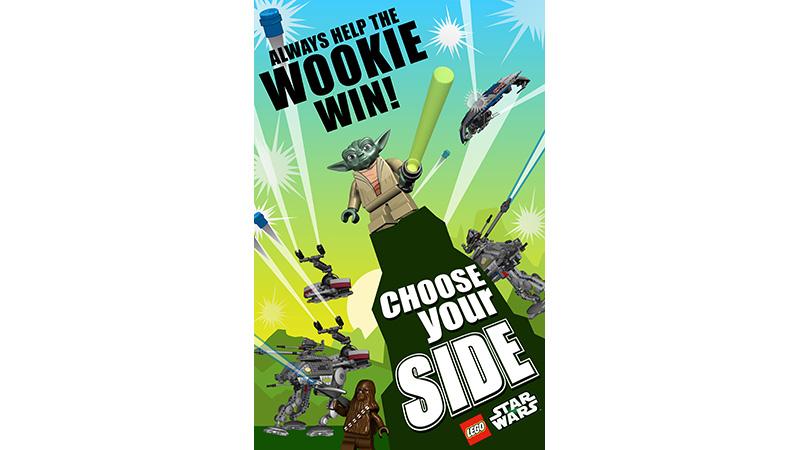 Yoda Lego Poster