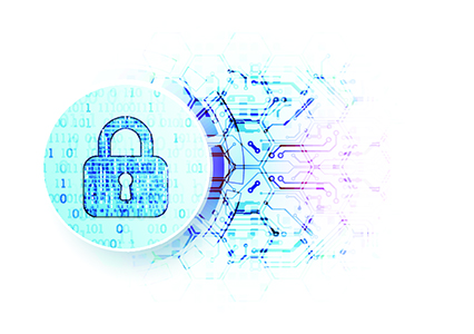 Secure representation with crypto lock